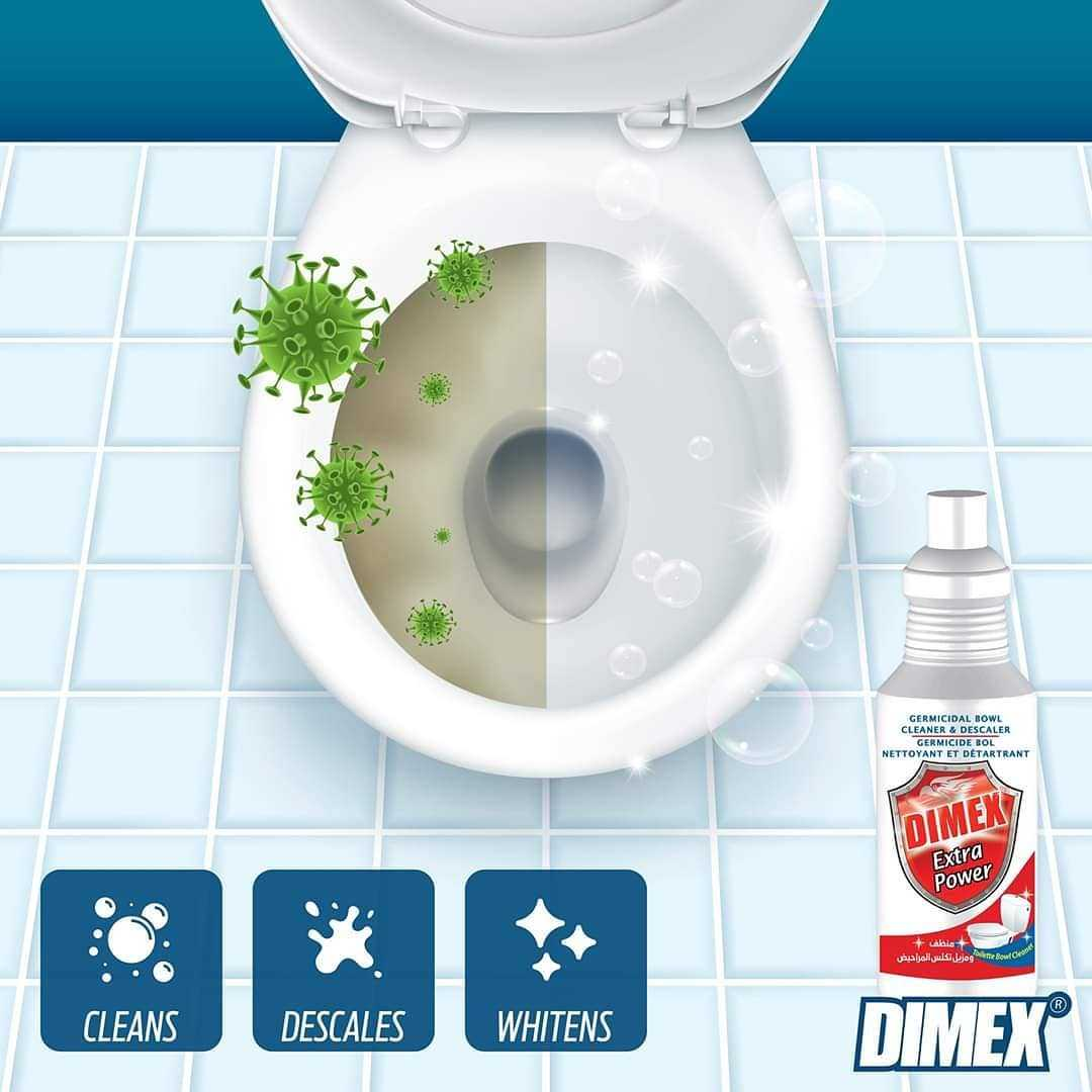 dimex extra power toilet cleaner
