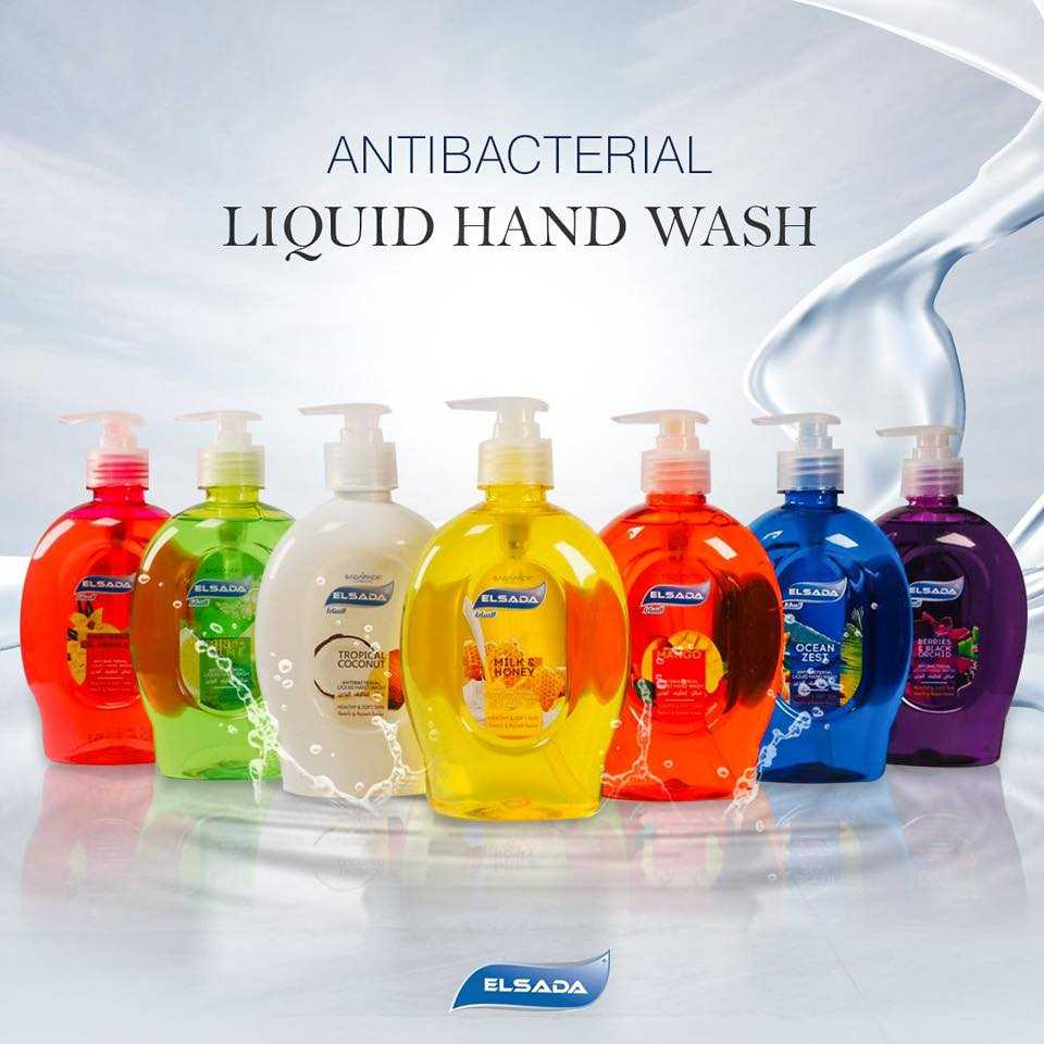 elsada liquid hand wash 440 ml
