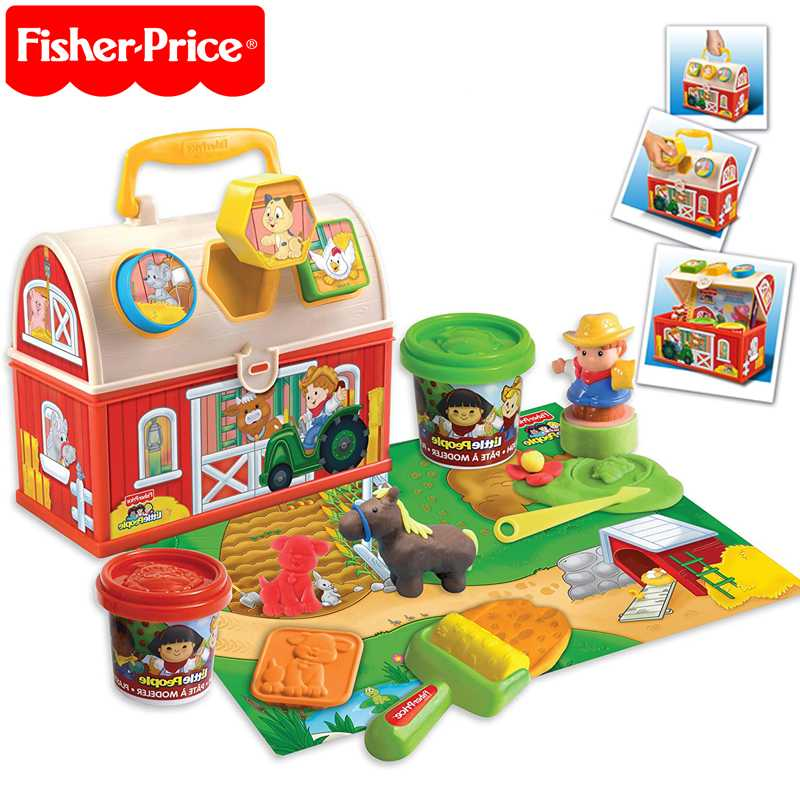 fisher+price++Plasticine+suitcase+farm+design