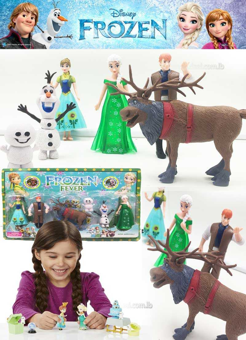 frozen fever small toys collect them