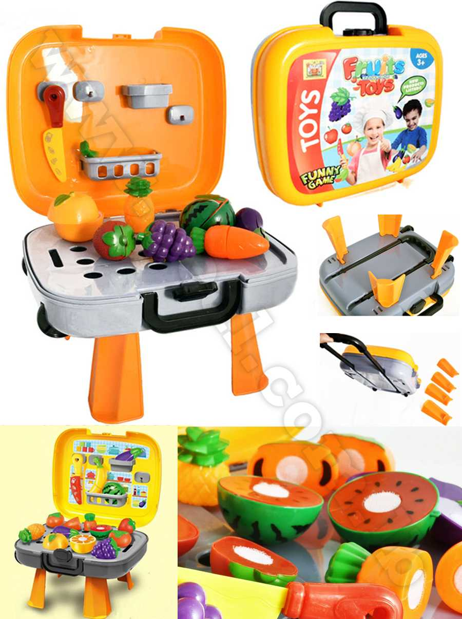 fruits toys 4in1 play set