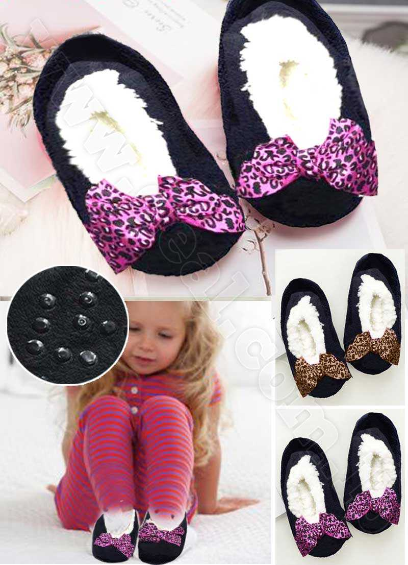funny black home slippers baby girl  casual shoes Short fluffy warm soft cotton house Slippers Halloweens