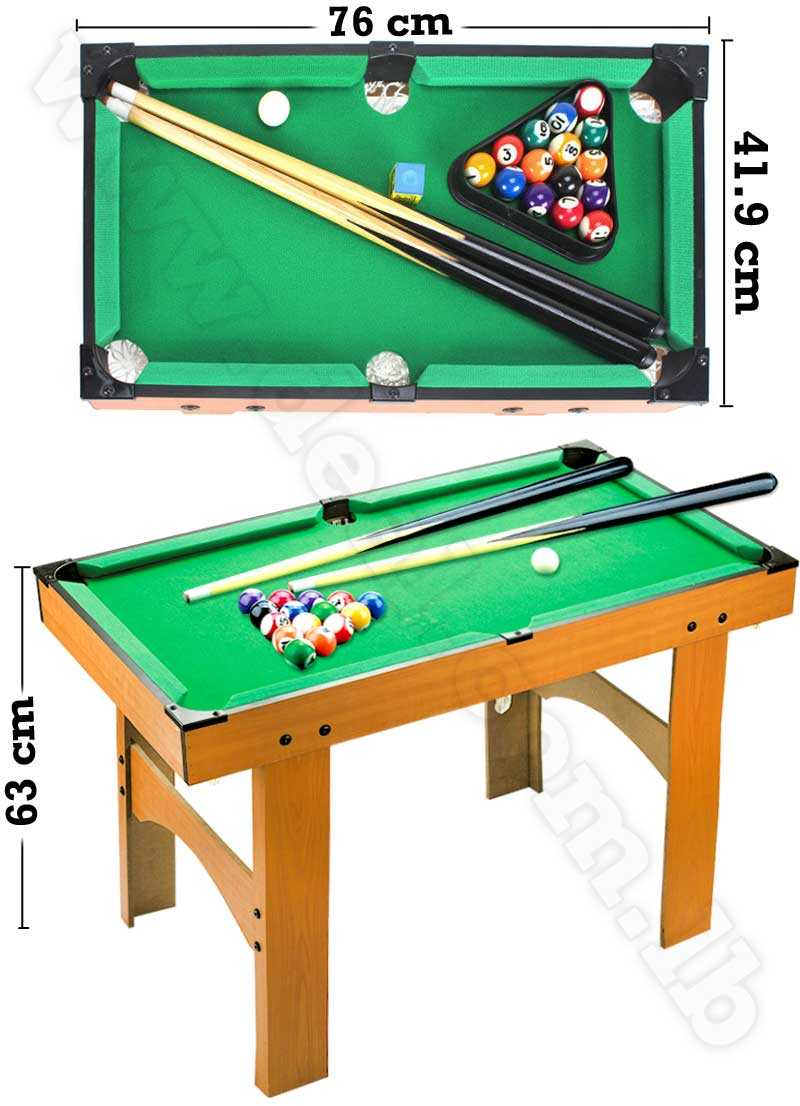 household childrens billiard ball high foot portable wooden family