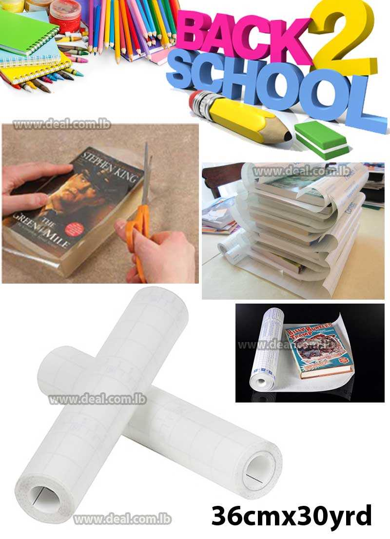 i Stick Self Adhesive Book Covering Film 45 cm x 5yrd