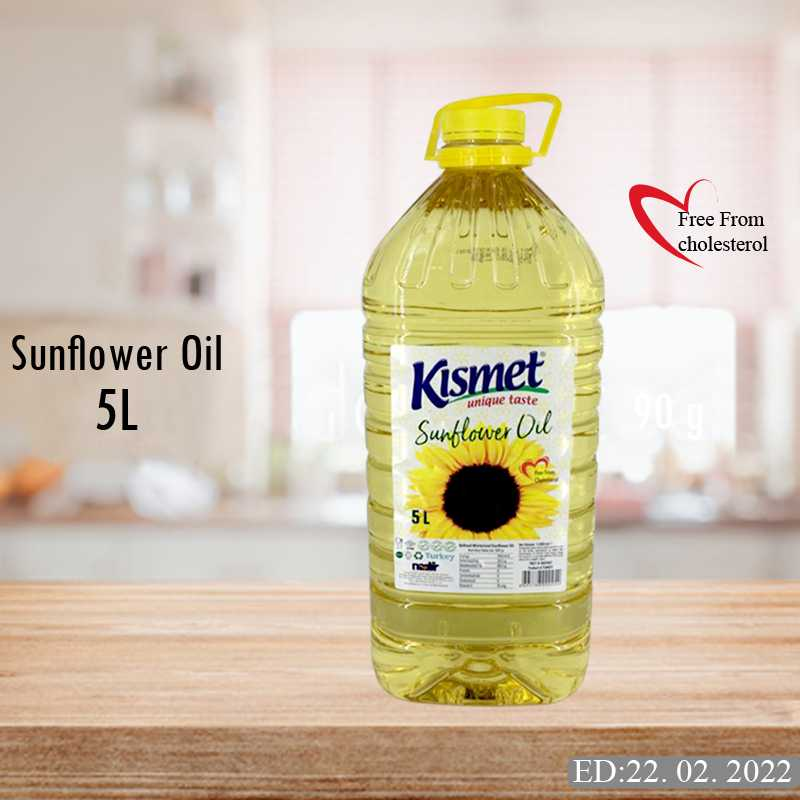 kismet sunflower oil 5l