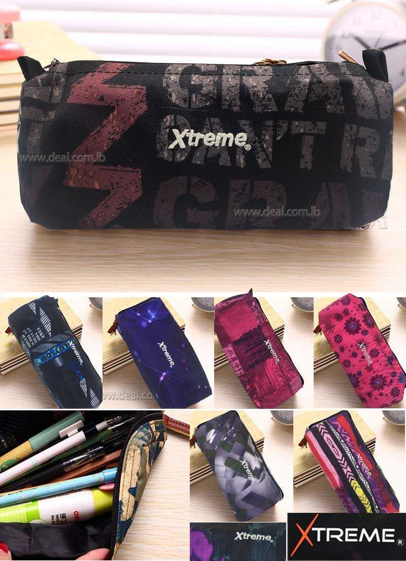 one pocket Extreme with design pencil case