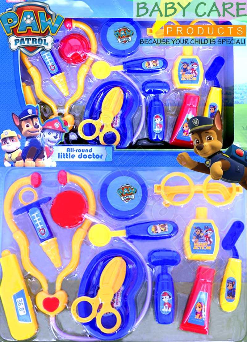 paw patrol all round little doctor set