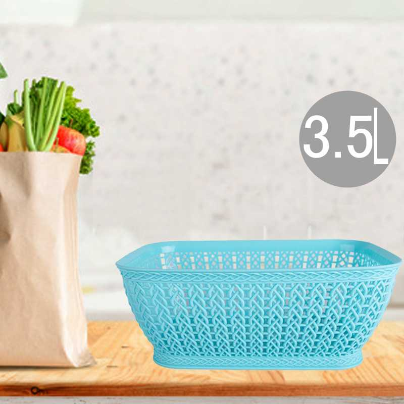 rectangle plastic basket 3.5L