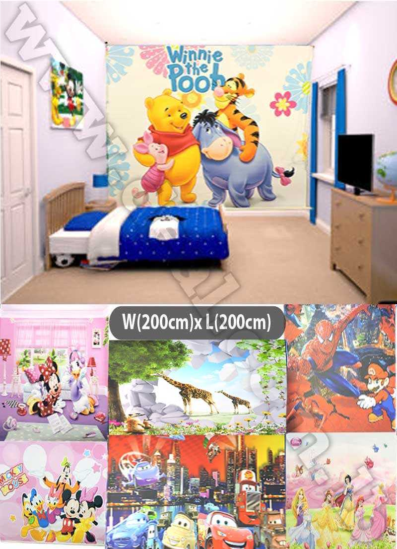 roller blinds Disney 200x200cm Best Window Coverings for ...