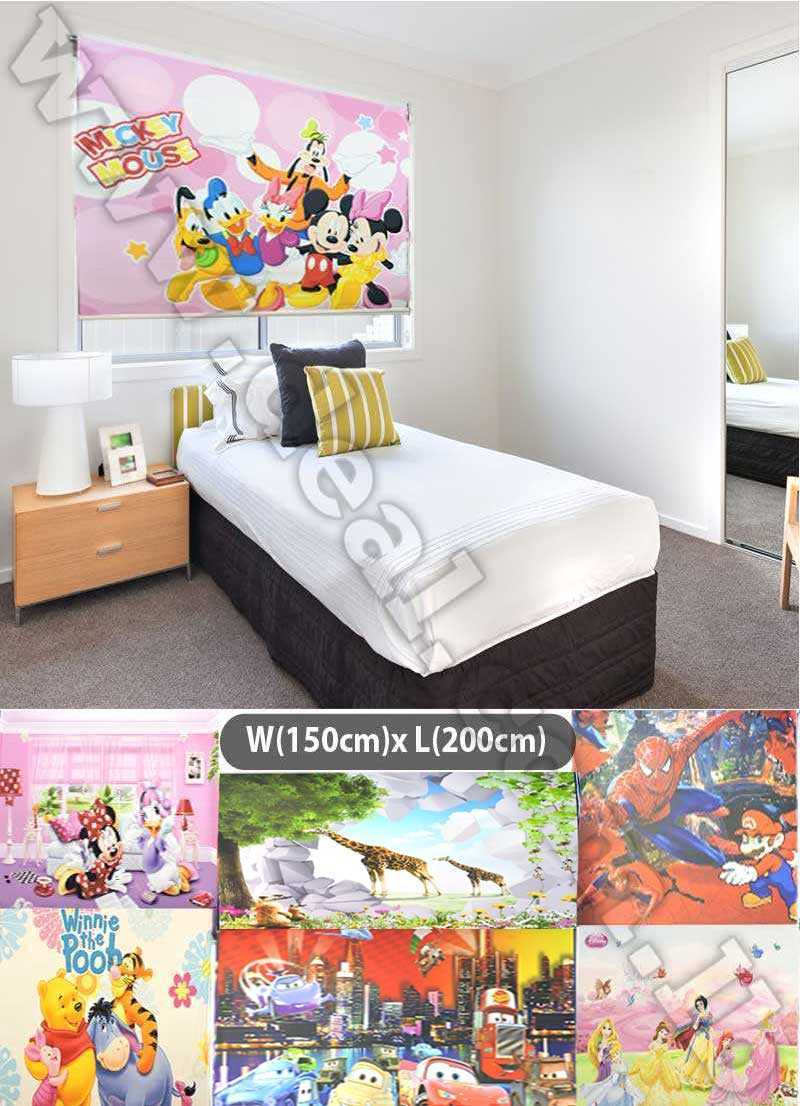 roller blinds Disney Best Window Coverings for Children s Bedrooms