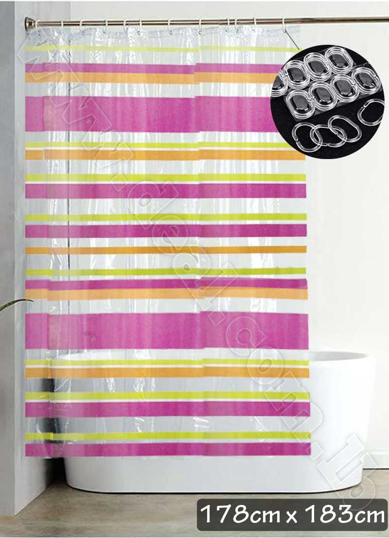 shower curtain grommets & with rings