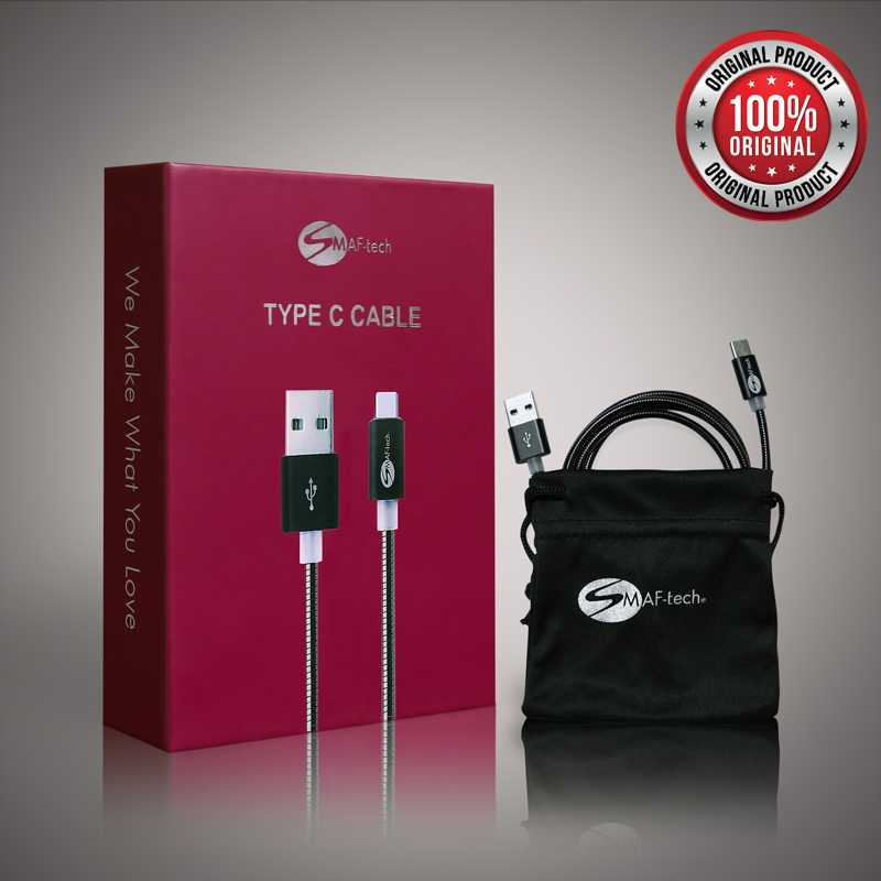 smaf - tech type c cable