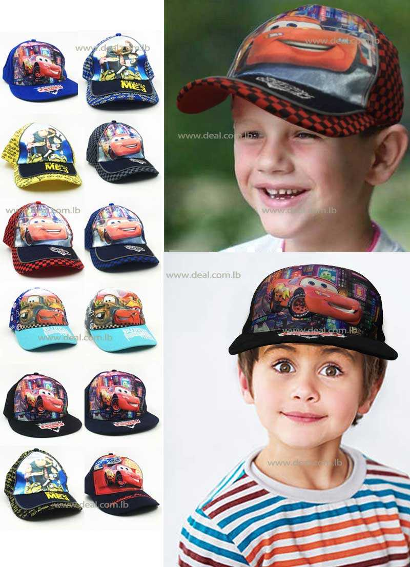 summer Boy 3D hat children cartoon cotton beach hat visor hat ball cap