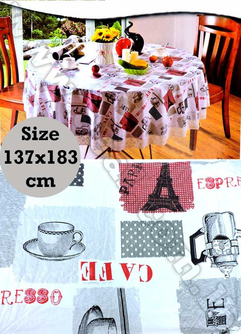 table cloth comfortable soft quality 137x183 cm