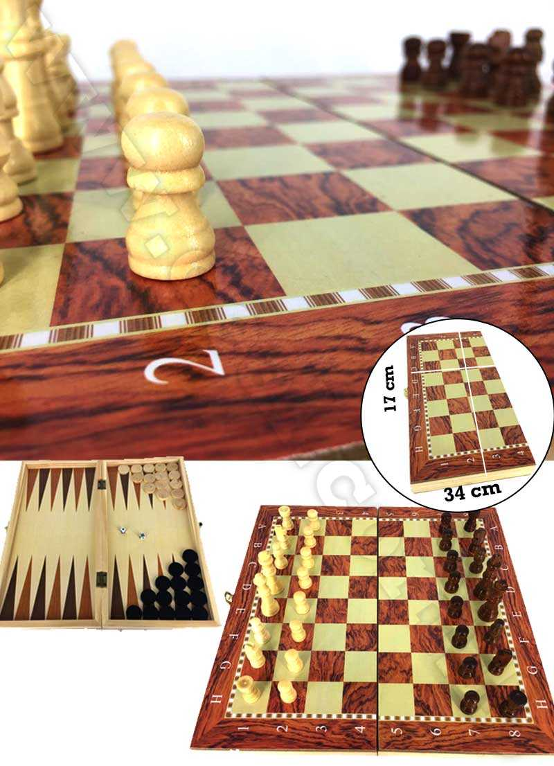 wooden+chess+set+chess+checkers+backgammon