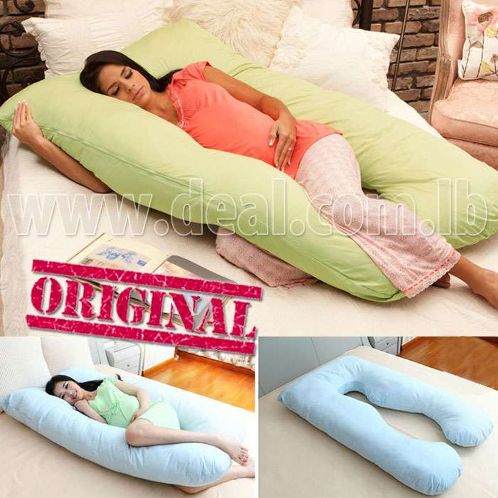 100 % Original Long U-shaped Body pillow