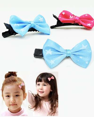 10 Pieces Hair Clip with Stars