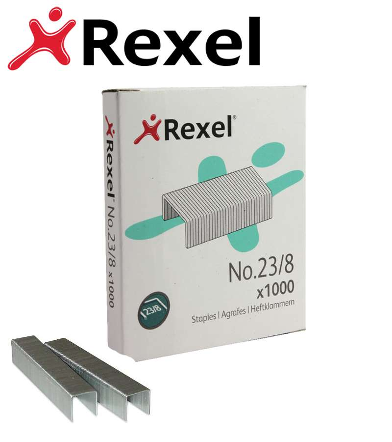 Rexel Heavy Duty Staples 23/8mm Pack 2101054