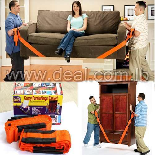 Forearm Forklift Moving Straps Carry Furnishing Easier