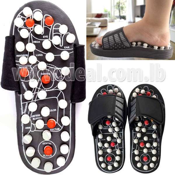 Massager Acupressure Massage Slippers Leg Foot