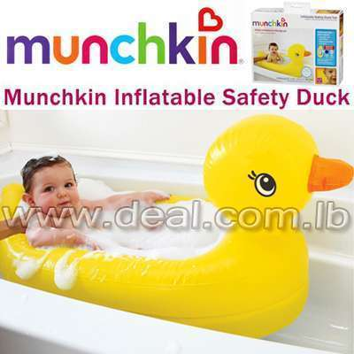 Munchkin inflatable safety duck tub