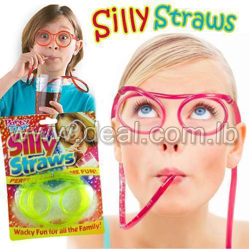 Silly Straw Glasses Plastic Glasses consumer tubes