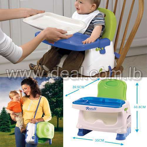 Folding Portable room highchair children dining room table chair