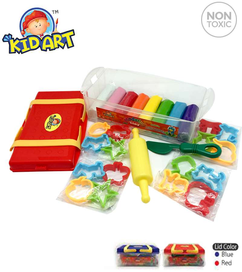 Non toxic Modeling Clay (T510/6C/16MRK/PC)