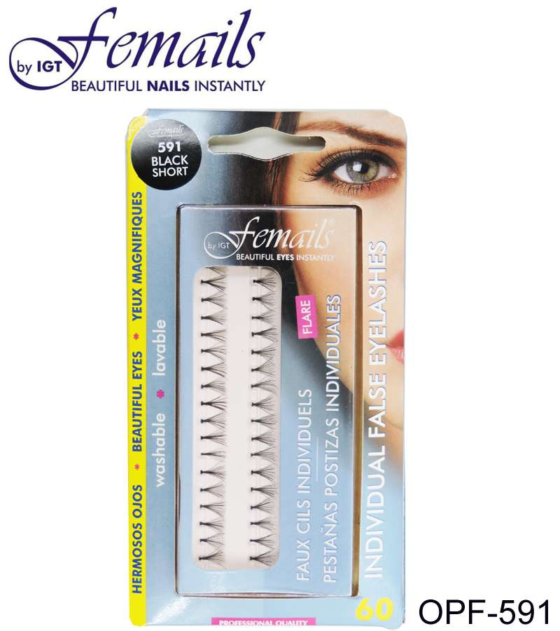 OPF-591 Individual Eyelashes,black,short