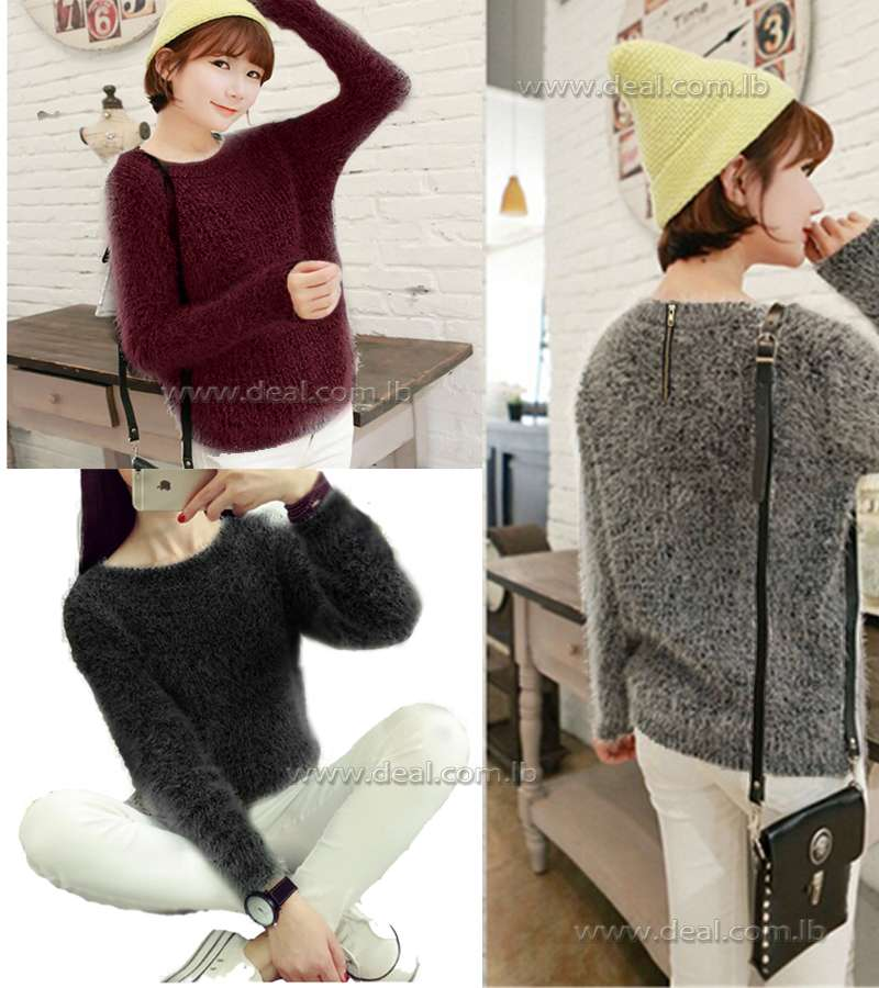 Sweater Women Casual Loose Knitted Bottoming