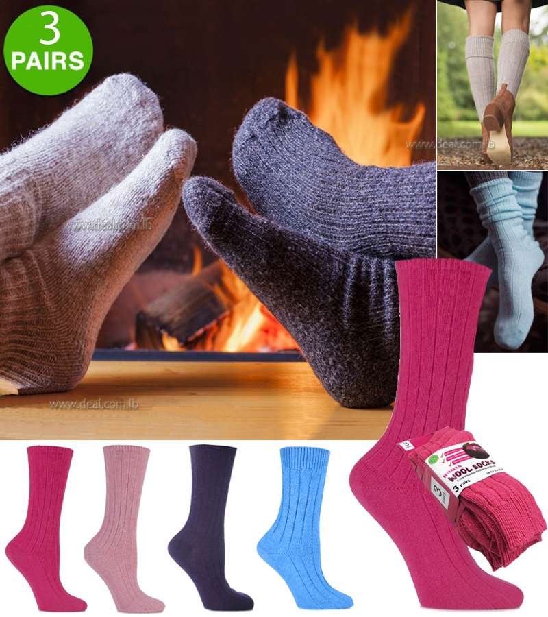 100% CASHMERE TUCKSTITCH BED SOCKS