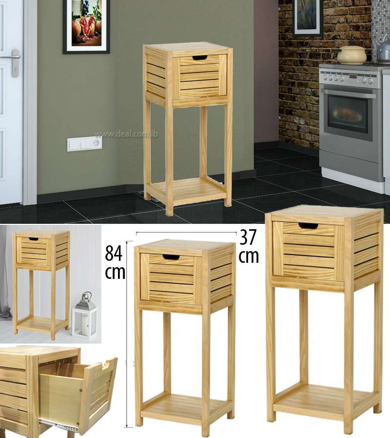 Tu Open Shelf Storage Unit