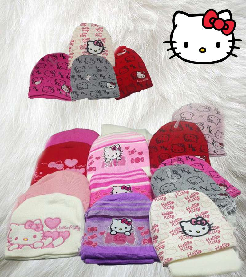 Beannie with Scarf Set Hello kitty