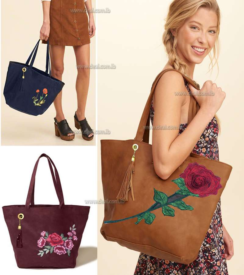 Fashion Women Leather Floral design