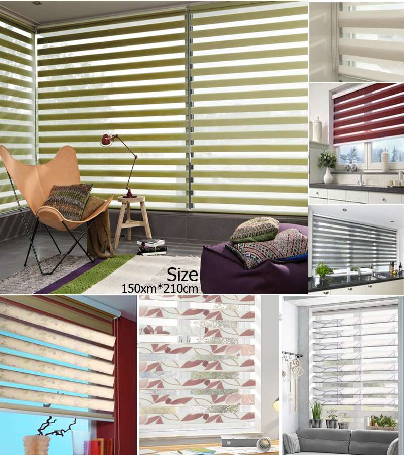 150xm*210cm Duo Roller Blinds Night & Day Blinds starting from 26.66$