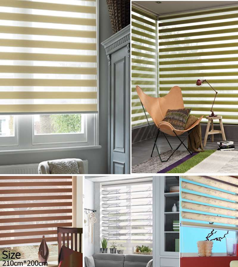210xm*200cm Duo Roller Blinds Night & Day Blinds starting from 34.66$