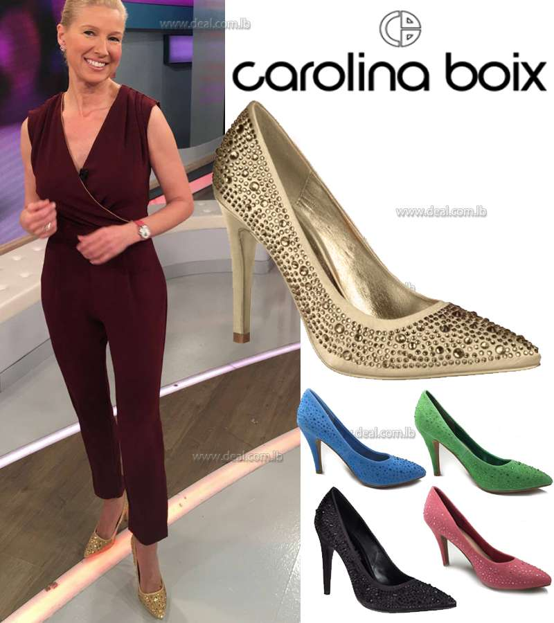 Carolina Boix Glitter PARTY SHOES