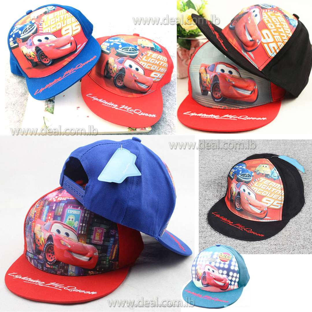 Trade Childrens Hat Cartoon Hip hop Baseball Cap Car