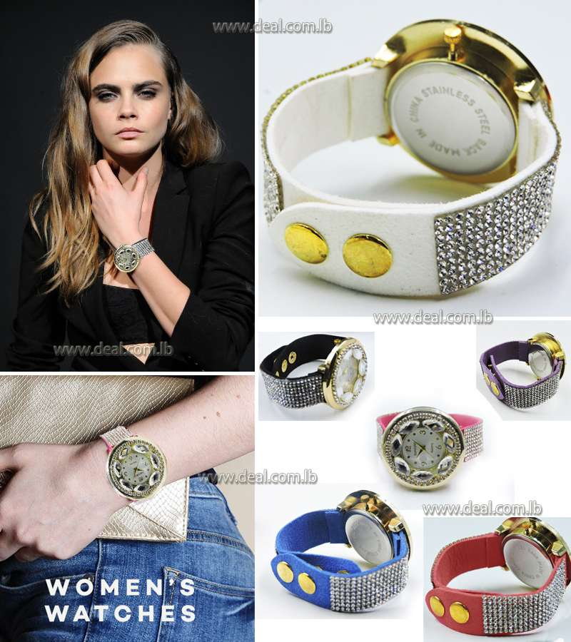 Diamond Women Watch glitter