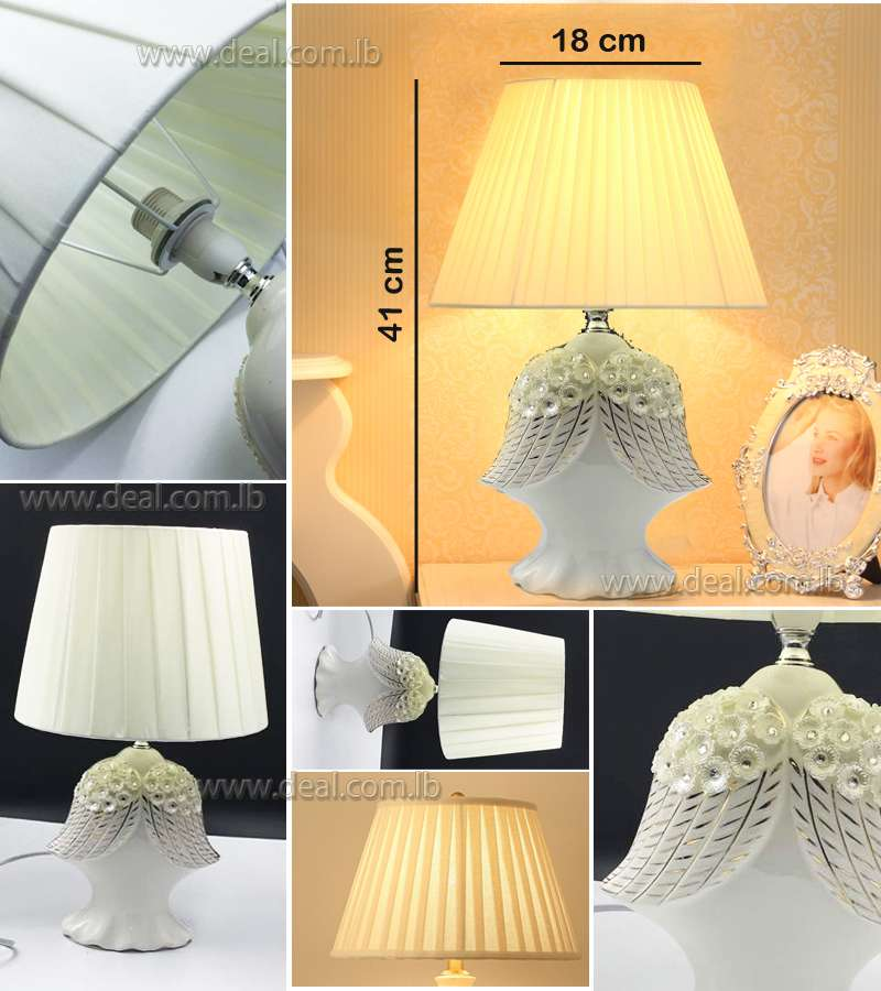 OffWhite Wings Design Classic Table Lamp