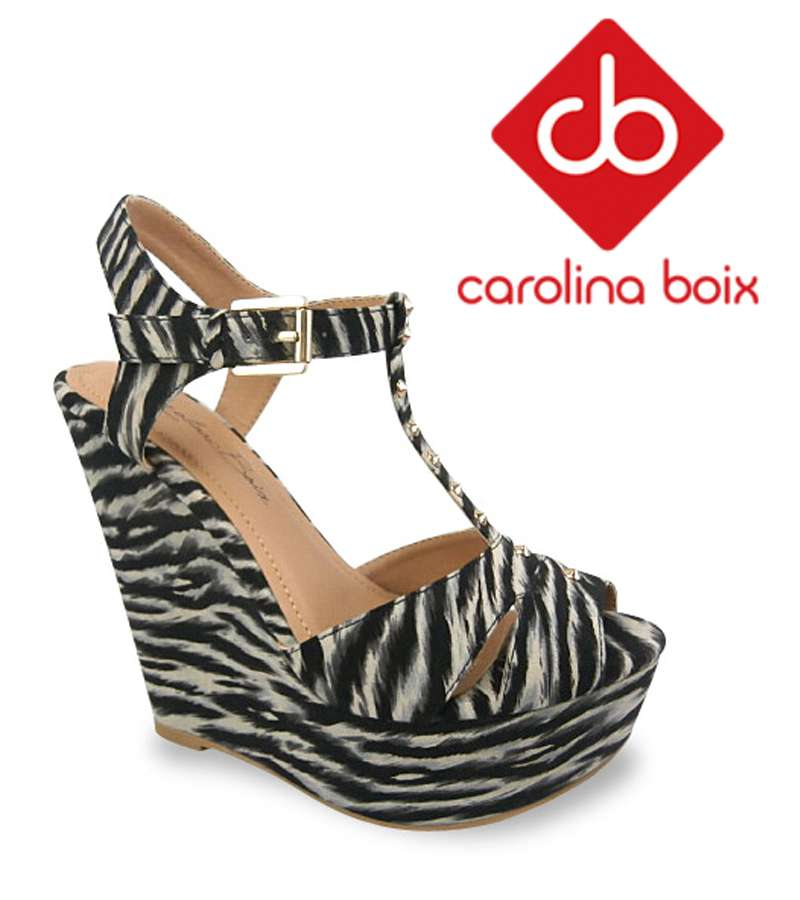 High Heel Zebra