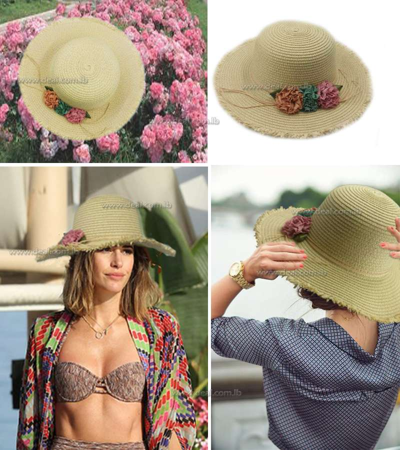Summe Korean Fashion  Beach Hat Korean Foldable Cu