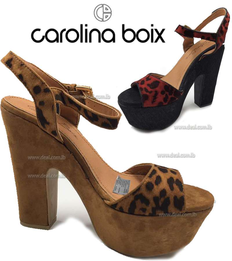 Carolina Boix tiger design Sandle