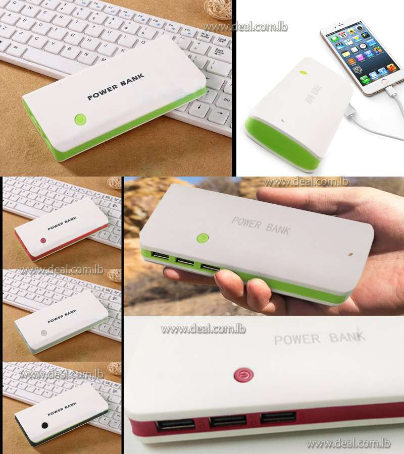 PowerBank White Color