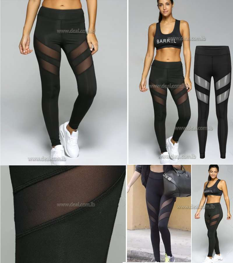 Tight Sport Running Leggings Black