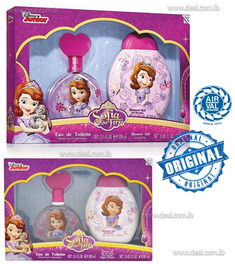 Disney Set of Sofia the First by Disney for Kids 2 Pc