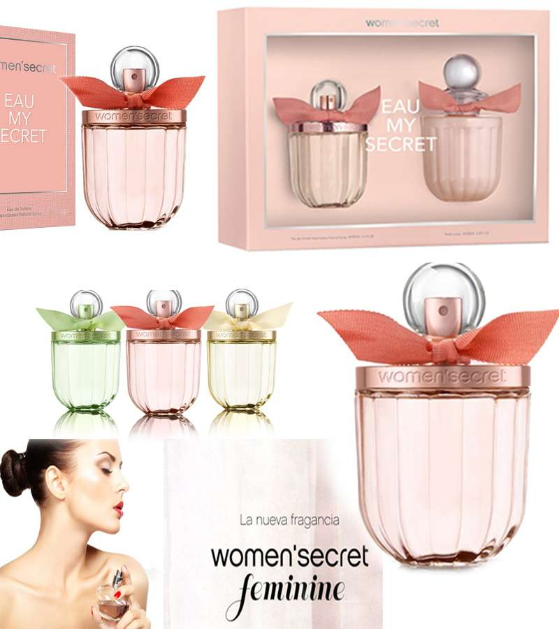 Women secret Eau My Delice Pink color
