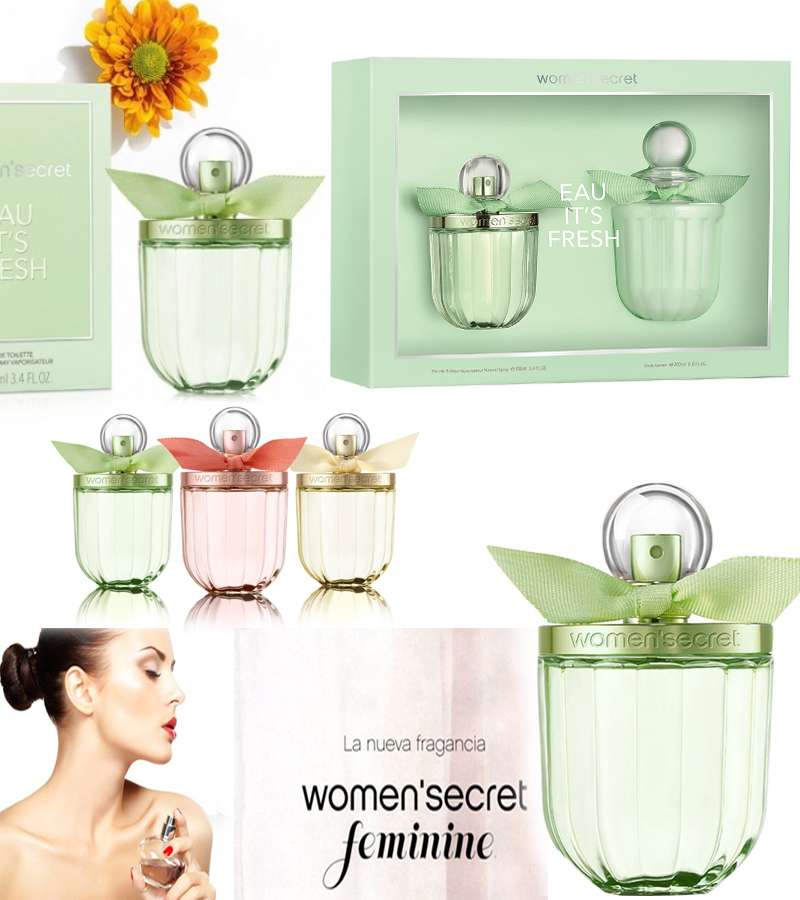 Women secret Eau My Delice Green color