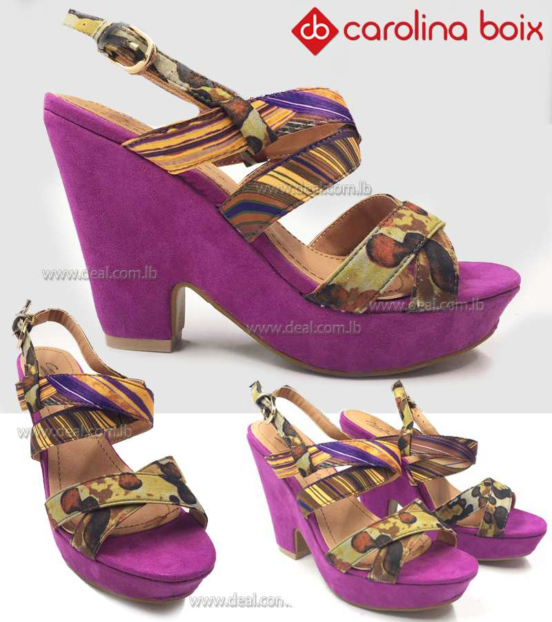 Colored  women Carolina boix shoes