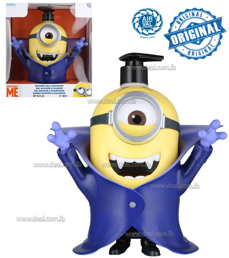 EP LINEMinions 3D Dracula Shower Gel And Shampoo 2 In 1